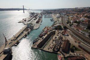 Doca de Alcantara Lisabon