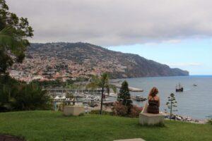 Výhled na přístav ve Funchalu