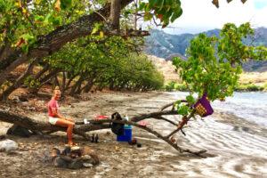 Silvestr na pláži, buřty s lanýži, lahváče a muzika